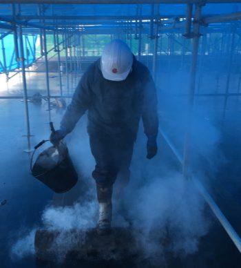 熱アスファルト防水