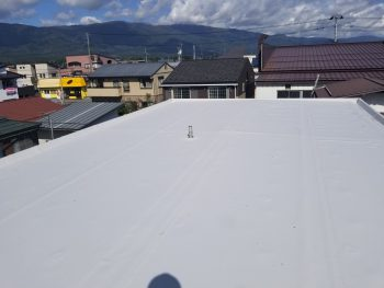 セキスイハイム陸屋根防水